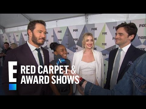 The Passage Stars Dish on Super Characters  E Red Carpet & Award Shows