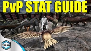 Ark survival evolved pvp stat guide for players and dino's ep. 20
