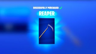 the REAPER pickaxe is BACK! - NEW BRAINIAC Skin is Here! (Fortnite Daily Item Shop) October 25th