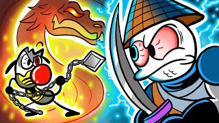 Hot vs Cold Combat  Max Challenges The Wrong Scorpion Pencilanimation Short Animated Film