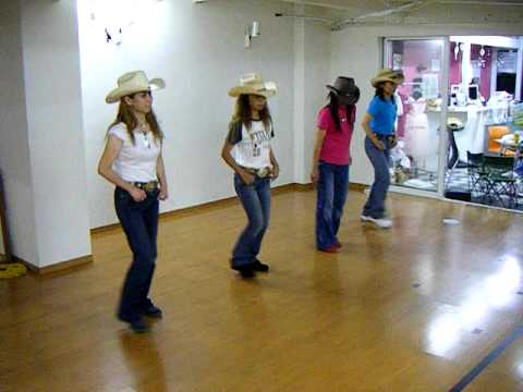 how to do the achy breaky heart line dance