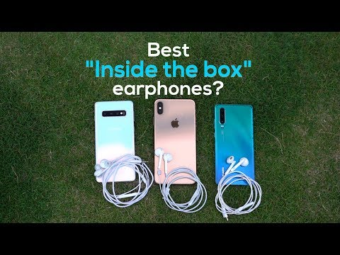 Which Flagship Smartphone Has The Best Earphones In The Box?