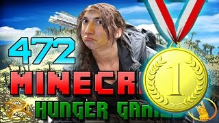 Minecraft: Hunger Games w/Mitch! Game 472 - GOING FOR THE WIN!