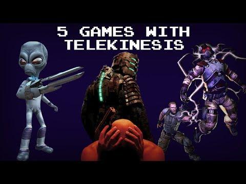 5 Games With Telekinesis