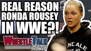 WWE Fastlane Main Event CHANGED! Real Reason Ronda Rousey In WWE?! | WrestleTalk News Feb. 2018