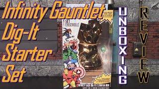Marvel Infinity Gauntlet Dig-It Starter Set Unboxing & Review