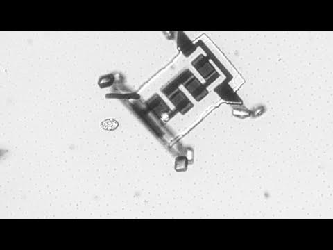 Нанороботы используют лазерные импульсы, чтобы перемещаться по телу