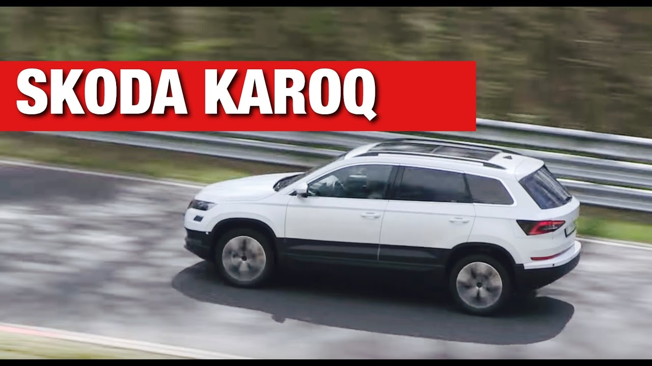 skoda karoq 2017 youtube. Black Bedroom Furniture Sets. Home Design Ideas