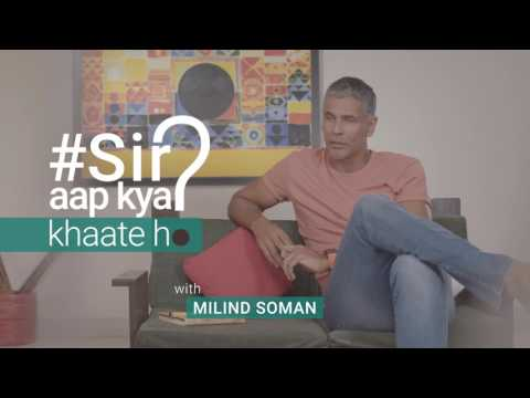 Eating a Healthy Lunch On The Go with Milind Soman | On the Run Episode 2