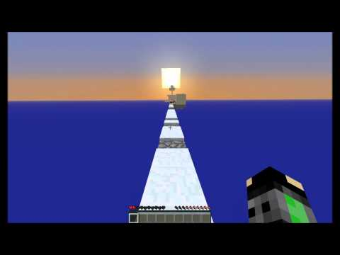 Skyblock Survival With Slenderman - Part 10 - Screaming at mobs