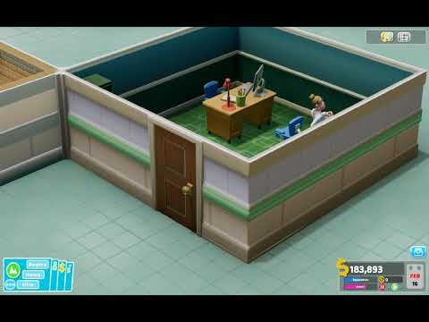 Two Point Hospital A Stitch in Time Gameplay PC |