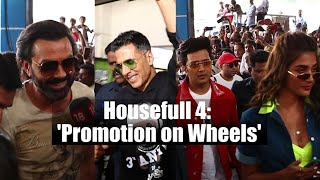 Housefull 4 | Akshay Kumar, Ritesh Deshmuk & others kick-start 'Promotion on Wheels'