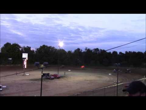 Butler Motor Speedway Sprint Heat #1 9/12/15