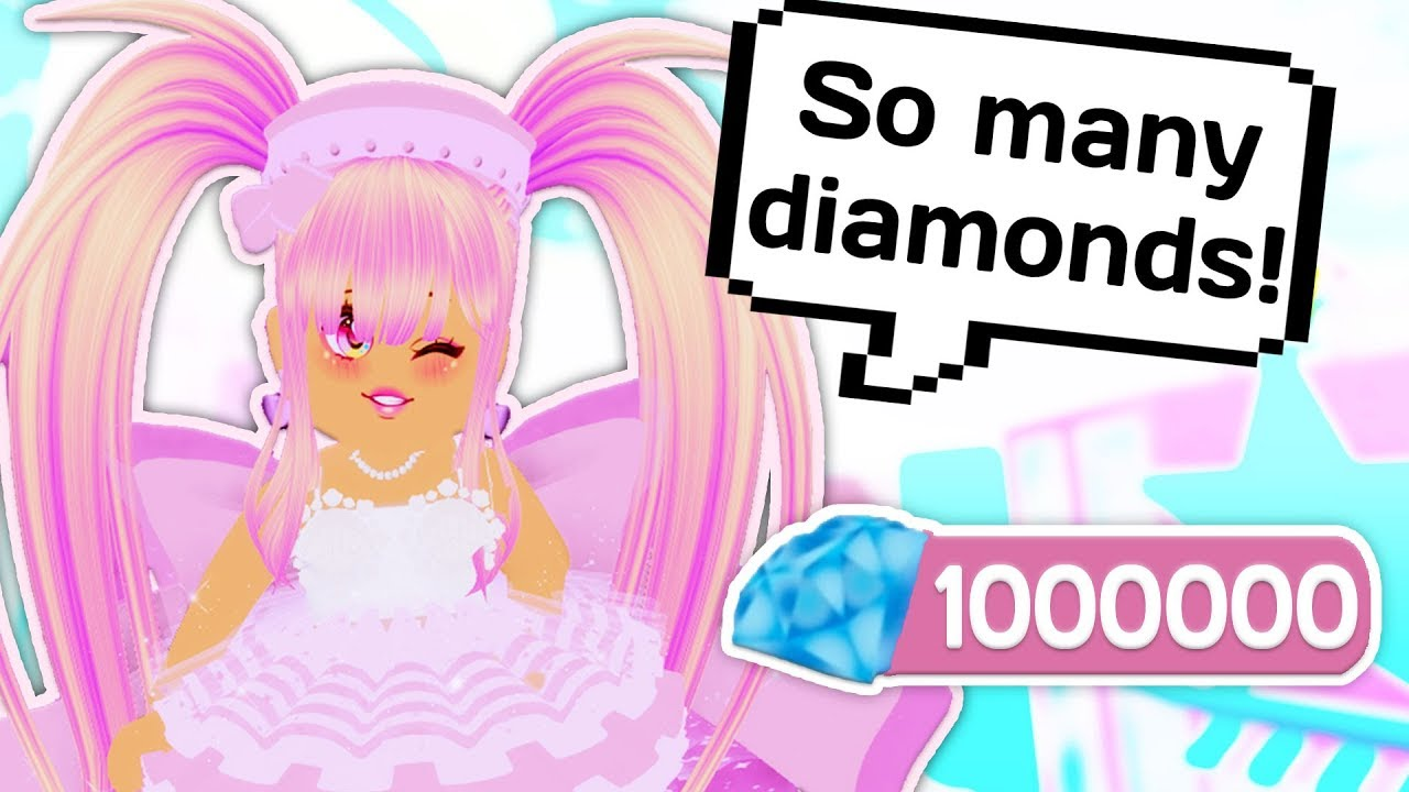 How To Get Over 2000 Diamonds In 10 Minutes Roblox