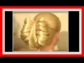 CHOPSTICK FISHTAIL BRAID HAIRSTYLE / HairGlamour Styles /  Hairstyles
