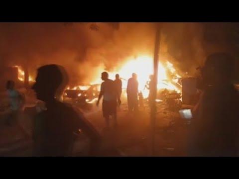 Polo menos 17 mortos por unha explosión fronte a un hospital do Cairo
