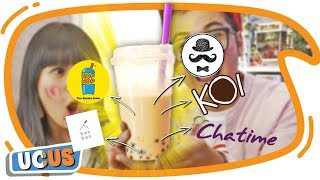 The Ultimate Bubble Milk Tea, Campur Semua Boba Milk Tea KOI, Chatime, Hop hop dll
