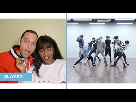 BTS (방탄소년단) 'FAKE LOVE' Dance Practice REACTION (BTS REACTION)