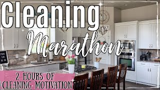 SPRING CLEAN WITH ME MARATHON 2019   2 HOURS OF SATISFYING SPEED CLEANING   BEST CLEANING MOTIVATION