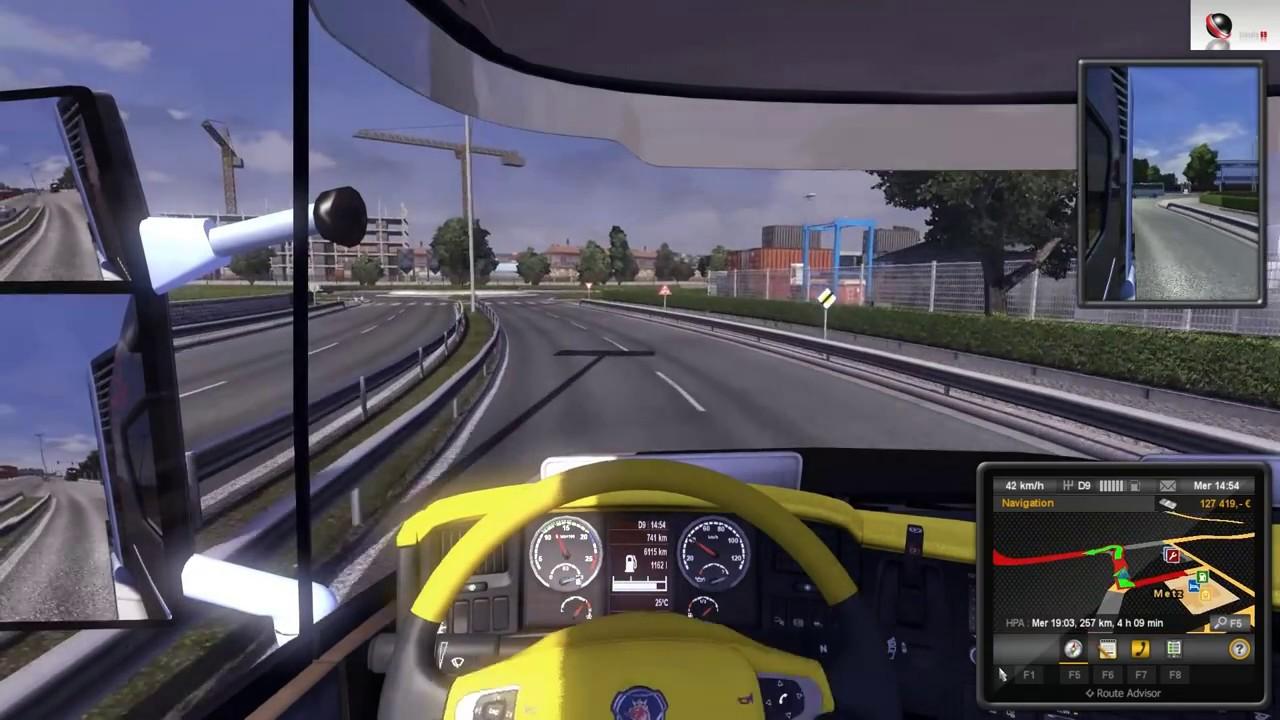 Моды к игре Euro Truck Simulator