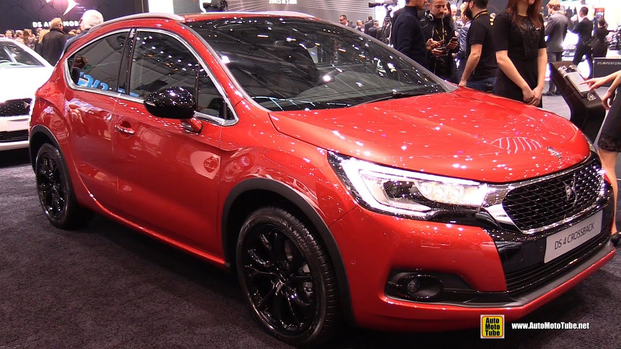 2016 citroen ds4 crossback exterior and interior walkaround 2016 geneva motor show youtube. Black Bedroom Furniture Sets. Home Design Ideas
