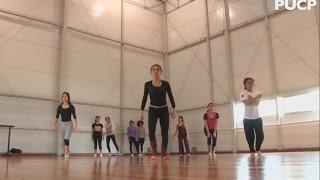 Clase de danza contemporánea con Lorna Ortiz - PUCP
