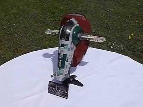 Lego star wars ucs st06 boba fett 39 s slave 1 youtube - Croiseur star wars lego ...