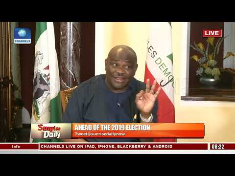 Gov. Wike Reveals Alleged Plan To Rig 2019 Elections In Rivers State By Security Agencies