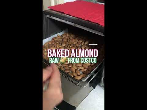 [Eng] 코스트코에서 사온 생아몬드로 구운 아몬드 만들기! How to roast raw almond(feat.Costco)