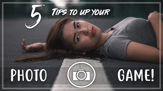 5 TIPS TO UP YOUR PHOTO GAME! | Vlog 01