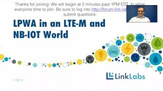 LPWA in an LTE-M and NB-IOT World