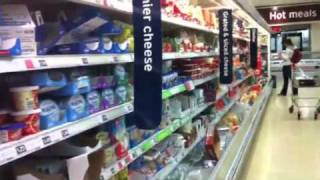 Cheese Aisle Sainsburys