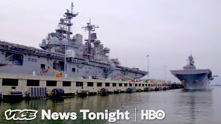 Rising Sea Levels Could Threaten U.S. Military Bases (HBO)