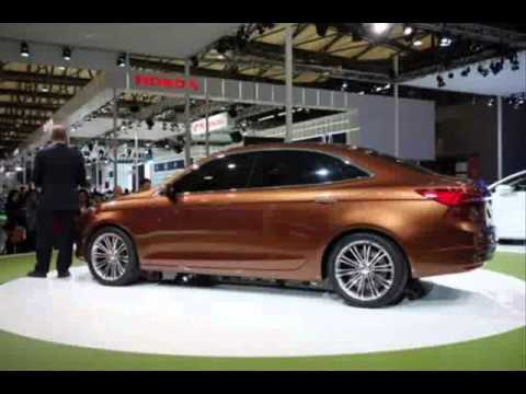 All New 2013 Ford Escort Concept (2013 Shanghai Motor Show)