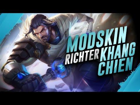 Mod Skin Richter Thống Soái Kháng Chiến Full Hiệu Ứng Âm Thanh Chuẩn 100% -MOD Skin Liên Quân Mùa 16