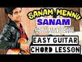 Sanam Mennu | Sanam puri | Easy guitar chord lesson, begginer guitar tutorial | #sanamoriginal