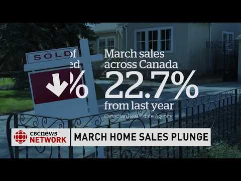 House prices plunge in Canada