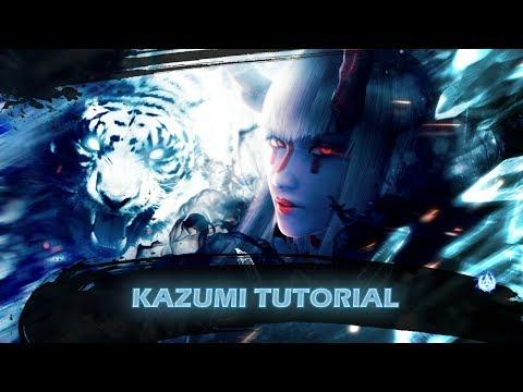 Tekken 7 Kazumi tutorial -  pokes, punishing, combos, etc.