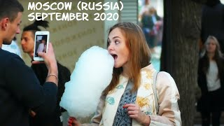 Walking Moscow (Russia): Beautiful Russian girls in Central Park/ September 2020 / NO COMMENTS