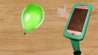 как сделать из воздушного шарика чехол для телефона