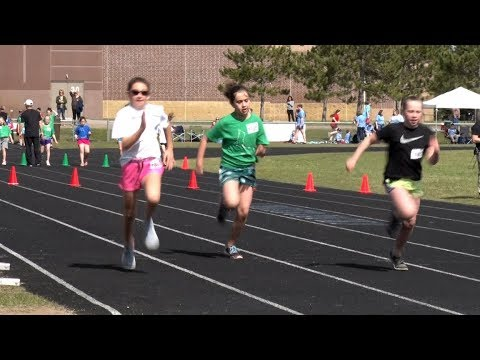 Golden Apple: Bemidji Area 4th & 5th Graders Hit The Track For Field Day