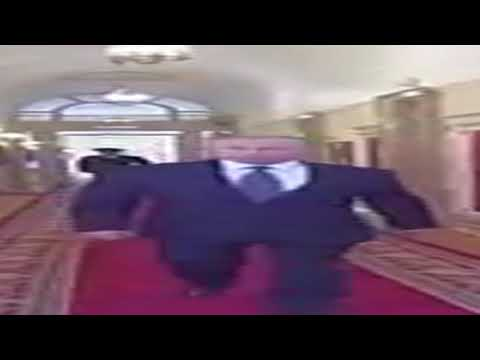 Wide Putin walking but he's always in frame (full version)