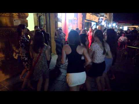 girls are having fun - night life in Kosice
