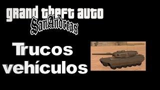 Trucos Gta San Andreas  - Vehículos parte 3
