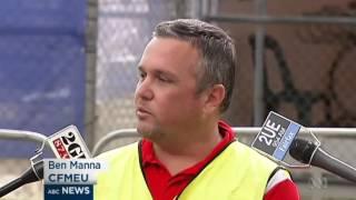 Safety concerns after fatal fall at Barangaroo