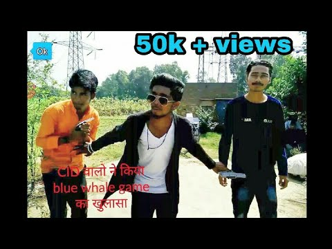 CID walo ne kiya blue whale game ka khulasa all rounder funny video