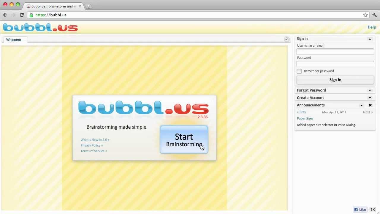 using bubblus to create mind maps - Bubblus Mind Map