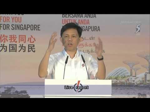 Powerful speech by Chan Chun Sing