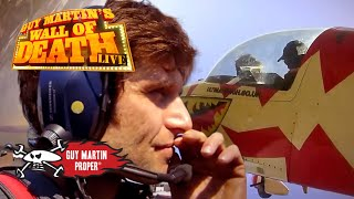 Guy nearly vomits after flying at 8G | Guy Martin Proper
