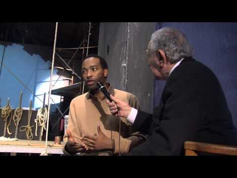 Hank Cisco and Richard Bradford talking about Moby Dick Rehearsed March 1-24 2013